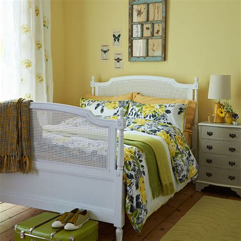 Green And Yellow Bedroom by Master Bedroom Ideas Ideal Home