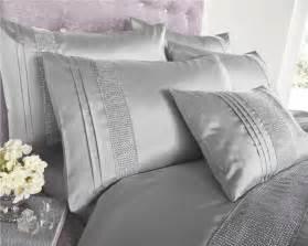Childrens Single Duvet Silver Grey Black White Diamante Duvet Sets Curtains