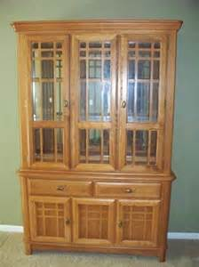 Oak Dining Room Hutch by My China Hutch Amish Oak Dining Room Pinterest