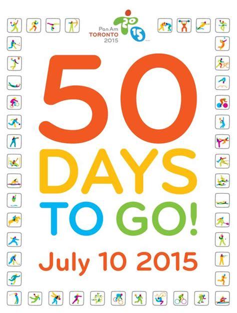 a 50 dias do pan de toronto do coach
