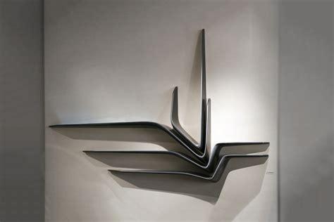 Black Marble Shelf by Zaha Hadid Citco Valle Black Granite Shelf