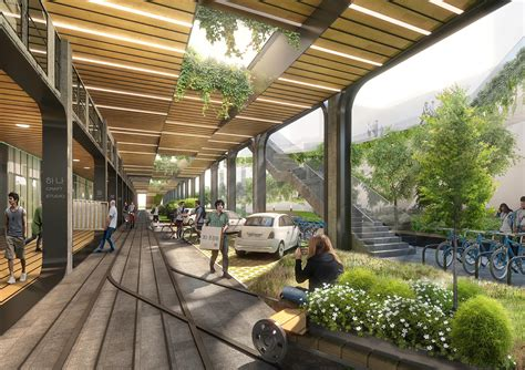 increasing use of 3d architecture in landscape designing seun citywalk avoid obvious architects