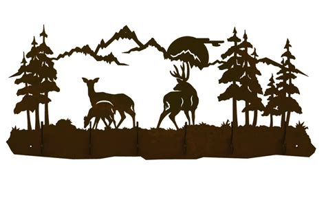 wildlife silhouettes scenes pictures to pin on pinterest