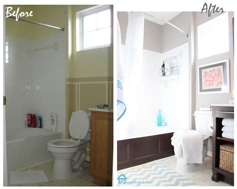 Small Bathroom Makeovers Before And After Small Bathroom Makeovers Before And After Creative Home
