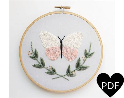 pattern in nature pdf butterfly embroidery pattern pdf pattern nature inspired