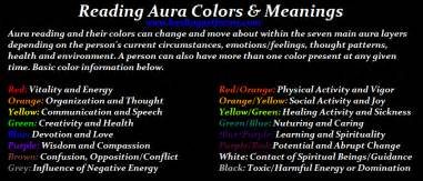 aura color meanings reading aura colors meanings reiki with friends