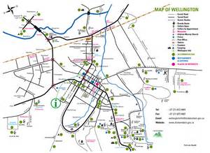 wellington map printable maps of wellington western cape