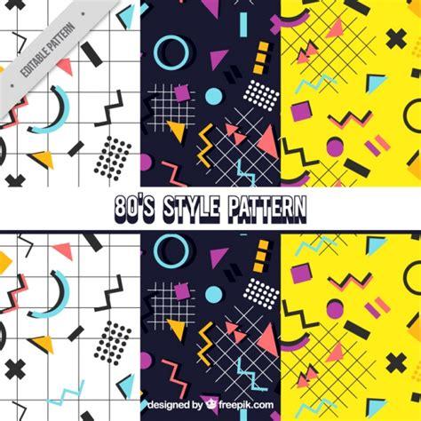 figuras geometricas vectorizadas padr 245 es decorativos com figuras geom 233 tricas coloridas