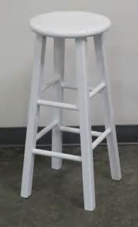 White Wood Bar Stool White Wood Bar Stool Town Country Event Rentals