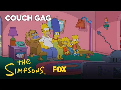 best couch gags best simpsons couch gags list of the most classic intros