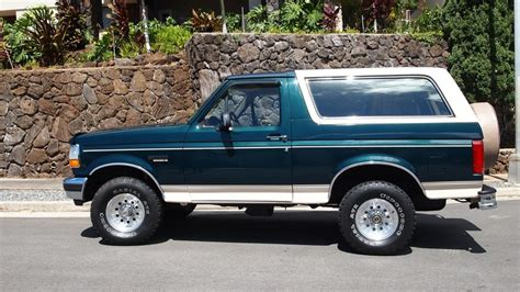 electric and cars manual 1992 ford bronco electronic throttle control 1992 ford bronco eddie bauer 351 390 hp automatic lot t171 anaheim 2012 mecum auctions