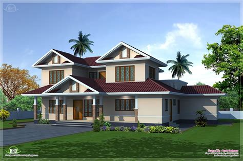 exterior house plans 2400 sq feet villa exterior and floor plan home kerala plans