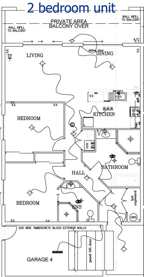 2 Bedroom Unit Floor Plans by Burramys 2 Bed Unit
