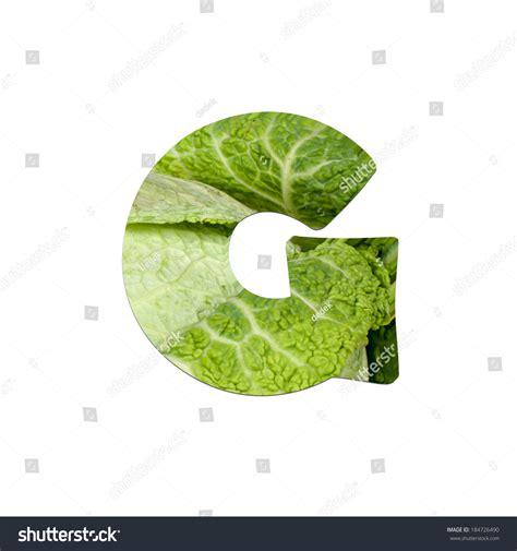 g vegetables fruits vegetables letter g stock photo 184726490