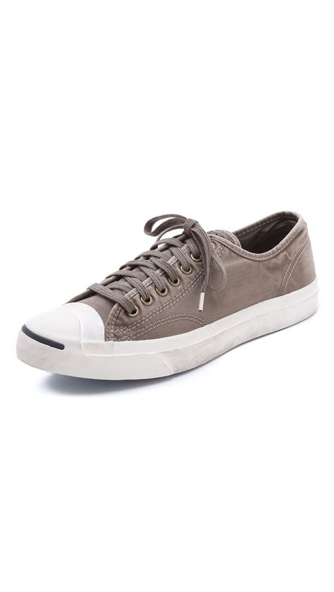 purcell sneakers converse purcell washed canvas sneakers in gray for