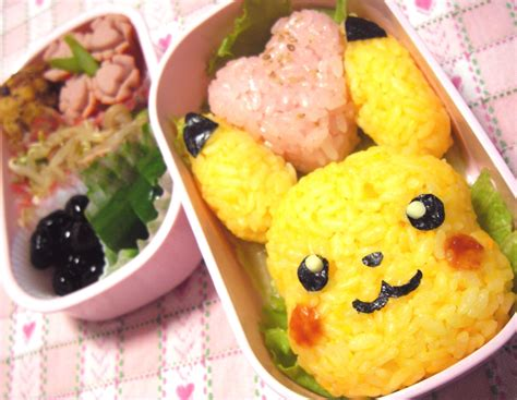 Gudetama Oval Lunch Box pikachu rice bento box recipe bento