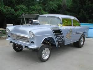 55 chevy gasser cars i