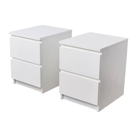 ikea white desk with drawers 40 off ikea ikea malm white two end