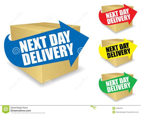 day delivery next day delivery icon eps royalty free stock photography