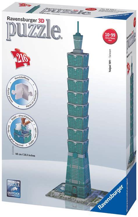 Ravensburger Taipei Tower 3D Puzzle