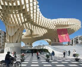Doug Aitken Interiors Urban Architecture Metropol Parasol By J Mayer H Architects