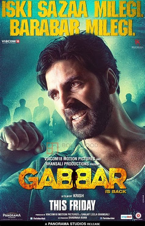 is back akshay kumar s gabbar is back opens with a thunderous