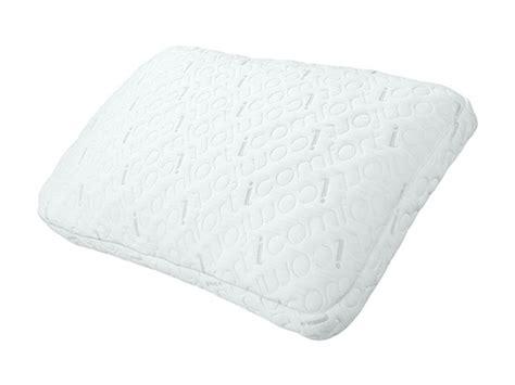pure comfort gel memory foam pillow serta icomfort 2 in 1 scrunch gel memory foam pillow 2 sizes