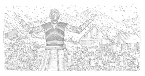 official a of thrones coloring book official hbo of thrones coloring book coming from