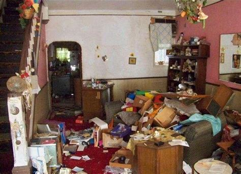 cluttered house hall of shame messy ugly house photos