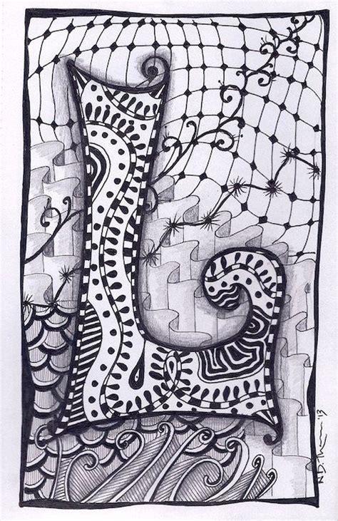 zentangle zebra pattern zentangle letters zentangle zentangle letter l zebra