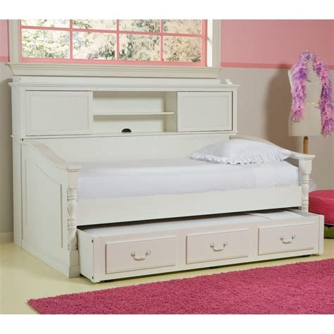 Daybed With Bookcase Bookcase Daybed Trundle Beds At Trundle Beds Direct New Beds