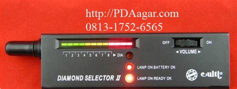 Alat Tes Permata lihat harga selector detector keaslian batu akik permata gratis baterai kotak 9v di