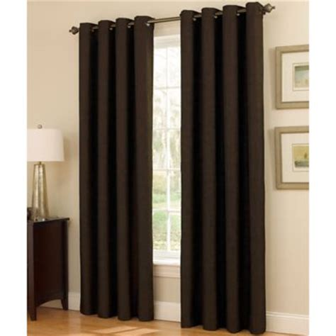 insola insulated drapery insola dorian thermalayer grommet top window curtain panel
