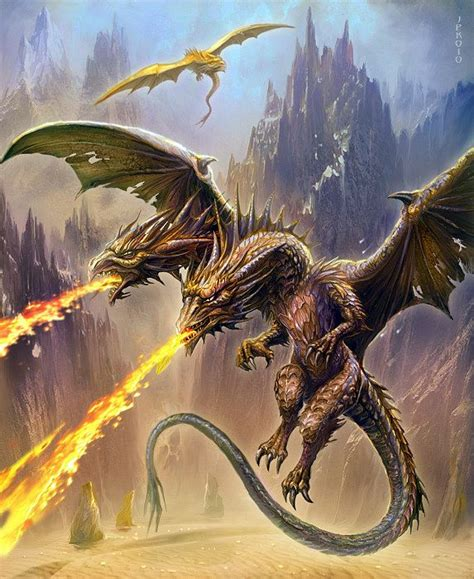 dvouhlav 253 drak two headed dragon art pinterest