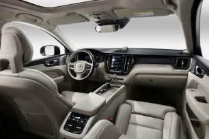 Volvo Xc60 Interior 2018 Volvo Xc60 Revealed At Geneva 300kw T8 Flagship Confirmed Performancedrive