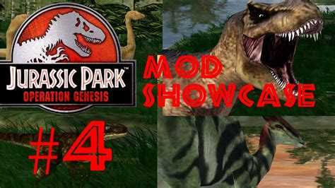 mod game jurassic park operation genesis jurassic park operation genesis mod showcase 4 jplegacy