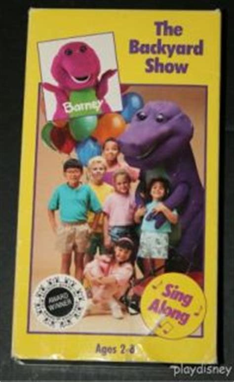 Barney And The Backyard Show barney backyard show vhs on popscreen