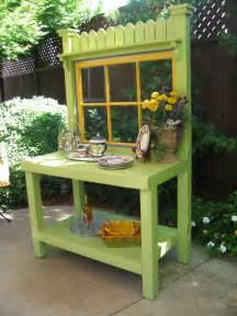 images of potting benches green potting bench with vintage window