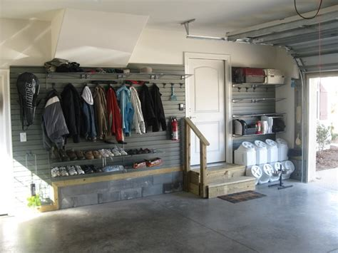 garage coat and shoe storage flow wall storage solutions contemporary garage salt