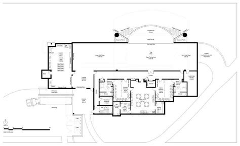 stage floor plan kevin cowan architects theatres stage floor