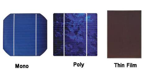gemiddelde grootte zonnepanelen solar panels different types explained canstar blue