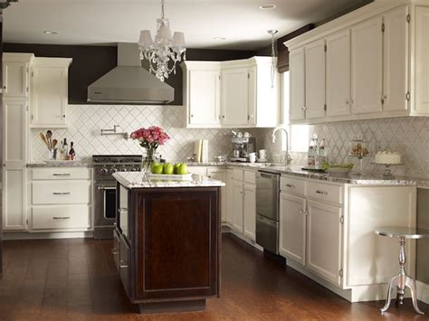 stunning kitchen paint colors with white cabinets and cote de texas stunning two tone kitchen design with