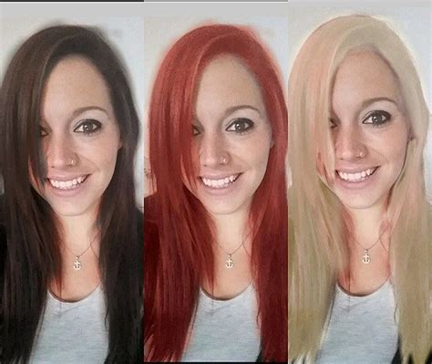 test hair color test out new hair color without to color your hair