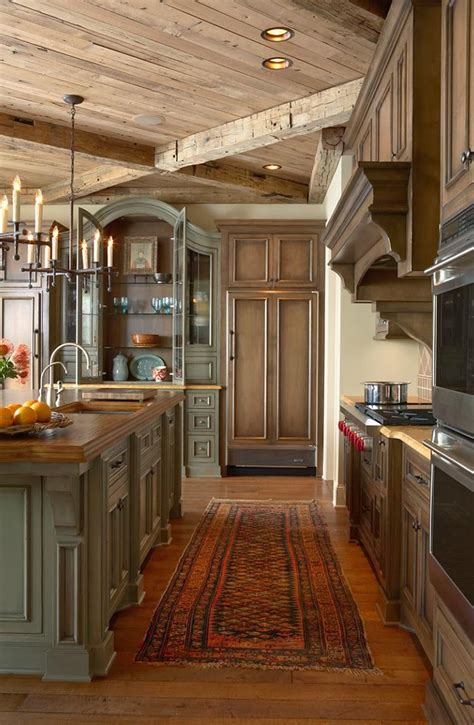 Rustic Country Kitchen Cabinets by Like