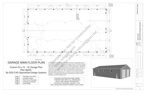 pole barn house plans blueprints download free sle pole barn plans g322 40 x 72 16 pole barn plans blueprints