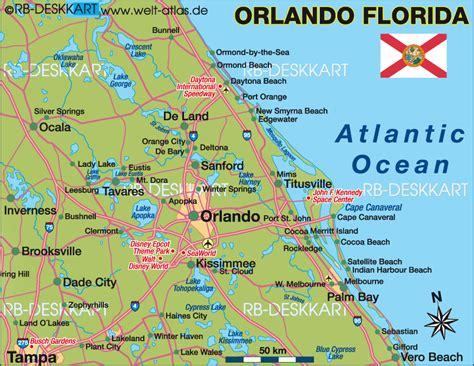 orlando map usa map of orlando florida usa orlando florida