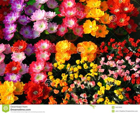stock fiori artificiali fiori artificiali fotografia stock immagine 14213332