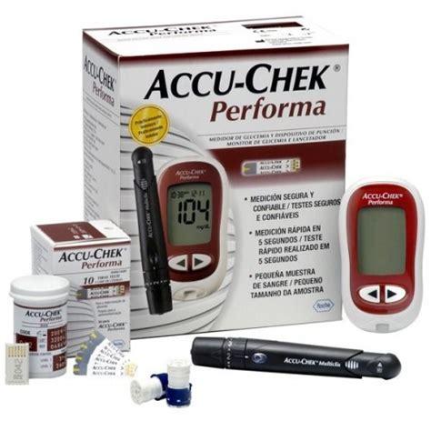 Glucometer Accu Chek Performa glucometer accu check performa