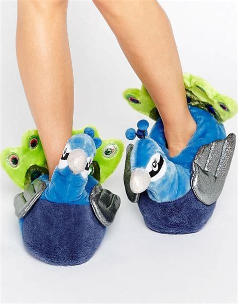 asos slippers asos asos nayla peacock slippers