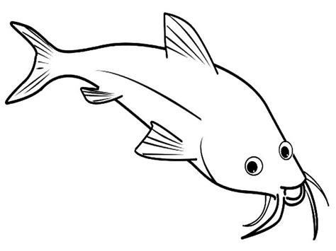 catfish coloring page catfish is laughing coloring pages catfish is laughing
